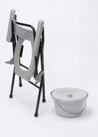 Folding Commode Toilet Aids Mobility Solutions