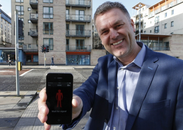 New app for wheelchair users an elderly