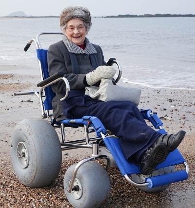 The Beach Wheelchair Project