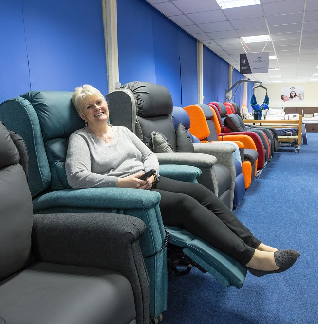 mobility solutions rise and recline chair