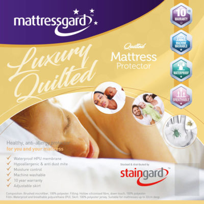 Mattressgard Luxury Quilted Mattress Protetctor
